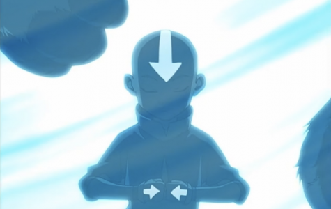 """Katara and Sokka find Aang and Appa in the iceberg after his 100-year slumber. From """"The Boy in The Iceberg,"""" by Nickelodeon."""